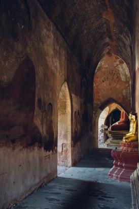 Inner Sanctum of Sulamani Pagoda